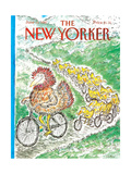 The New Yorker Cover - June 15, 1987 Giclee Print by Edward Koren