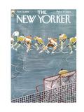 The New Yorker Cover - November 21, 1959 Giclee Print by Anatol Kovarsky