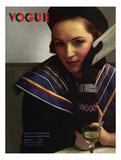 Vogue Cover - March 1934 Premium Giclee Print by Edward Steichen