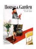 House & Garden Cover - October 1950 Premium Giclee Print by Horst P. Horst