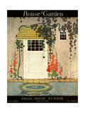 House & Garden Cover - July 1919 プレミアムジクレープリント : H. ジョージ・ブランド