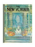 New Yorker Cover - November 04, 1985 Reproduction giclée Premium par George Booth