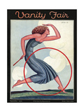 Vanity Fair Cover - September 1926 Premium Giclee Print by Pierre L. Rigal