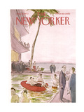 The New Yorker Cover - August 19, 1972 Giclee Print by James Stevenson