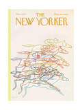 The New Yorker Cover - March 13, 1971 Premium Giclee Print by Charles E. Martin