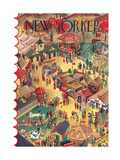 The New Yorker Cover - October 9, 1937 Giclee Print by Ilonka Karasz