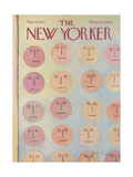 The New Yorker Cover - May 16, 1970 Premium Giclee Print by Andre Francois