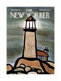 The New Yorker Cover - April 19, 1969 Giclee-trykk av Donald Reilly