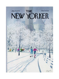The New Yorker Cover - January 29, 1979 Giclee Print by Charles Saxon
