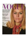Vogue Cover - November 1966 Premium gicléedruk van Bert Stern