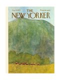The New Yorker Cover - August 22, 1970 Giclee Print by James Stevenson