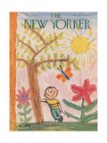 The New Yorker Cover - May 9, 1953 Premium Giclee Print by William Steig