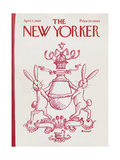 The New Yorker Cover - April 5, 1969 Premium Giclee Print by Frank Modell