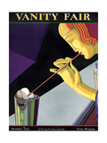 Vanity Fair Cover - December 1926 Premium Giclee Print by Pierre L. Rigal