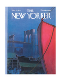 The New Yorker Cover - March 17, 1973 Premium Giclee Print by Charles E. Martin