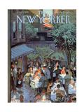 The New Yorker Cover - August 2, 1958 Giclée-Premiumdruck von Arthur Getz