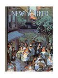 The New Yorker Cover - August 2, 1958 Premium Giclee Print by Arthur Getz