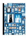 The New Yorker Cover - April 5, 2010 Reproduction procédé giclée par Kathy Osborn