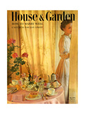 House & Garden Cover - May 1950 Premium Giclee Print by Horst P. Horst