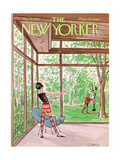 The New Yorker Cover - May 20, 1967 Giclee Print by Charles Saxon