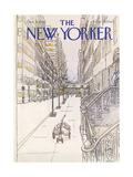 The New Yorker Cover - December 4, 1978 Reproduction procédé giclée par Arthur Getz