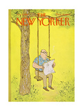 The New Yorker Cover - August 12, 1967 Premium Giclee Print by William Steig