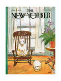 The New Yorker Cover - March 12, 1979 Reproduction giclée Premium par George Booth