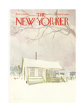 The New Yorker Cover - February 15, 1969 Giclee Print by James Stevenson