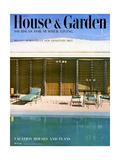 House & Garden Cover - June 1952 Premium Giclee Print by Rudi Rada