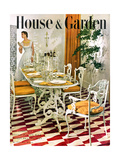 House & Garden Cover - May 1949 Premium Giclee Print by Horst P. Horst