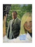 GQ Cover - September 1965 Premium Giclee Print by Richard Richards