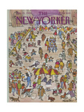 The New Yorker Cover - May 21, 1984 Giclee Print by James Stevenson