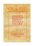 The New Yorker Cover - September 10, 1973 Giclee Print by James Stevenson