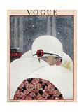 Vogue Cover - January 1919 ジクレープリント : ジョルジュ・ルパプ