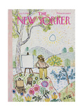 The New Yorker Cover - August 23, 1969 Premium Giclee Print by William Steig