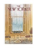 The New Yorker Cover - August 30, 1976 Premium Giclee-trykk av Arthur Getz