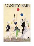Vanity Fair Cover - January 1915 Lámina giclée prémium por Ethel M. Plummer