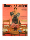 House & Garden Cover - May 1951 Premium Giclee Print by Horst P. Horst