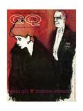 GQ Cover - December 1961 Premium Giclee Print by Harlan Krakovitz