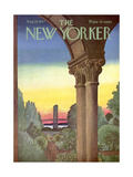 The New Yorker Cover - August 19, 1967 Premium Giclee Print by Charles E. Martin
