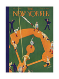 The New Yorker Cover - October 5, 1929 Premium Giclee Print by Theodore G. Haupt