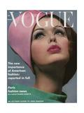 Vogue Cover - March 1962 Premium gicléedruk van Bert Stern
