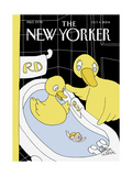 The New Yorker Cover - October 4, 2004 Reproduction giclée Premium par Gahan Wilson
