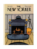 The New Yorker Cover - December 10, 1973 Premium Giclee Print by Charles E. Martin