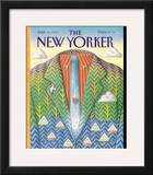 The New Yorker Cover - September 16, 1991 Framed Giclee Print by Bob Knox