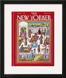 The New Yorker Cover - June 1, 1992 Framed Giclee Print by Bob Knox
