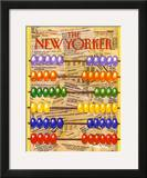 The New Yorker Cover - April 17, 1989 Framed Giclee Print by Bob Knox