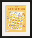 The New Yorker Cover - July 11, 1988 Framed Giclee Print by Bob Knox