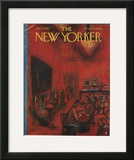 The New Yorker Cover - January 21, 1961 Framed Giclee Print by Robert Kraus