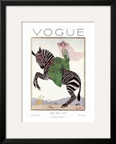 Vogue Cover - January 1926 Posters by André E. Marty